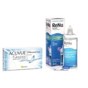 Johnson & Johnson Acuvue Oasys (6 čoček) + ReNu MultiPlus 360 ml s pouzdrem