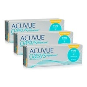 Johnson & Johnson Acuvue Oasys 1-Day with HydraLuxe for Astigmatism (90 čoček)
