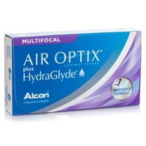 Alcon Air Optix Plus Hydraglyde Multifocal (3 čočky)